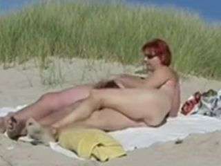 Naked Beach - Rehead Mature boink