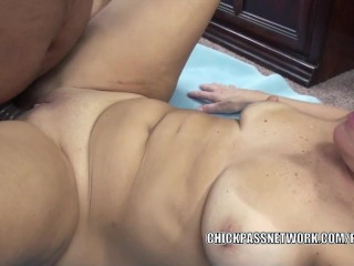 Liisa is taking some cock in her mature twat