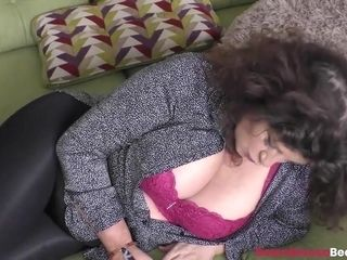 Hot Brunette Hot Mature Gilly Showing Boobs And Oiling Them Up Nicely