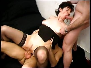 Two cocks for a mature