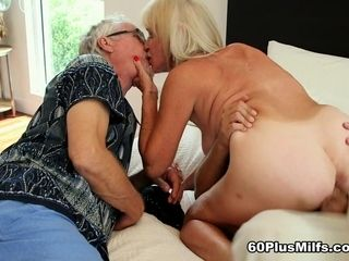 64-Year-Old Leah Fucks. Her Hubby Watches. - Leah L'amour, Dick L'amour, And Jimmy Dix - 60PlusMilfs