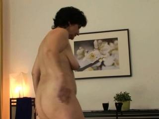 Bushy vulva 60 yo gal rails his youthful prick