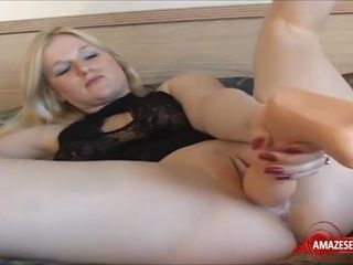 Unexperienced GILF Plays With ample faux dinky