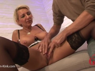 Pumped Pussy MILF Fuck with Creampie