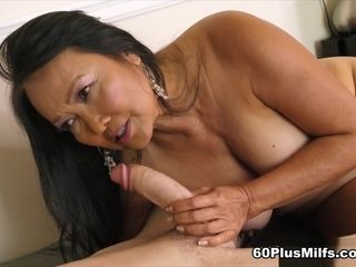 70-Year-Old Mandy Schools A Young Student - Mandy Thai And Connor Kennedy - 60PlusMilfs