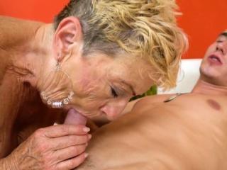 Aged pensioner gets porked