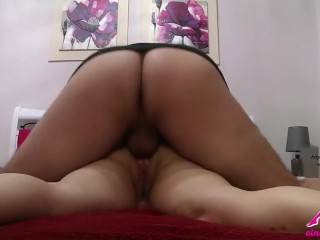 Preparing to take cock in my ass