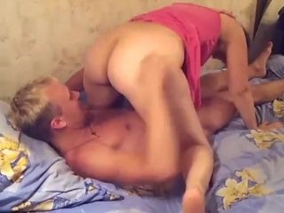 Stud boinking Russian mature mother with large bum