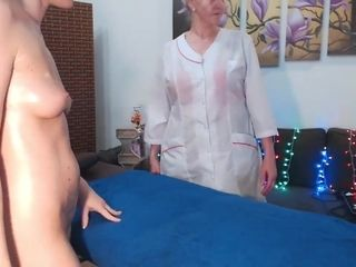 Redhead Gets An Erotic Massage From Mature