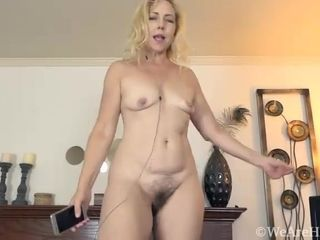 Badd Gramma enjoys getting naked and sexy - Compilation - WeAreHairy