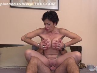 Stefania Riding And Bouncing On This Hard Dick