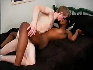 White Dick and Hot Ebony Wife