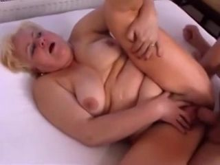 Older Bbws Takes Good Care Of Her Boy To - plump
