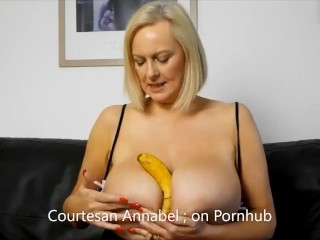 Annabel's Bank holiday banana funbag fap