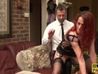 """""""Cuckold british wifey gets pussyfingered"""""""