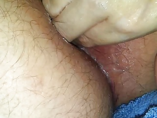 Wife fisting me