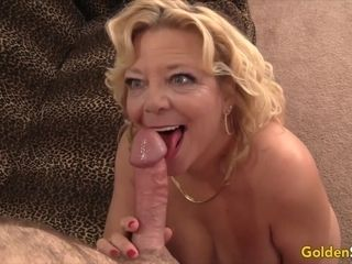 Golden Slut - Older Ladies Show off Their Cock Sucking Skills Compilation 18