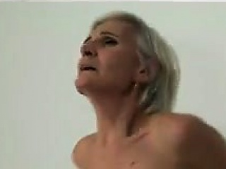 Granny Fucked By A Strapon