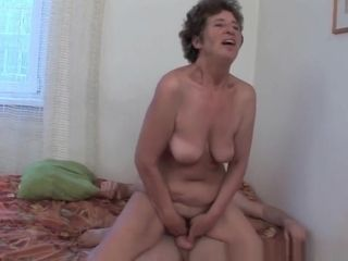 Grannie enjoys ass fucking fuck-a-thon