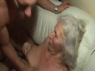 Grannie romped by youthfull neighbor