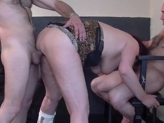 Gilf and daughter love group sex
