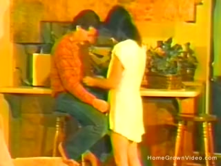Antique homemade shag vid with puny wifey
