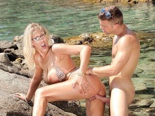Milf Lana Vegas Takes A Mediterranean Fucking - Private