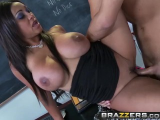 BRAZZERS - Bad educator Priya Anjali gets fucked by Keiran Lee