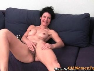 Grandmother rejects to trim her furry labia