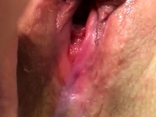 Pussy cum wife's pussy cumming unchanging without exception soaking scruffy