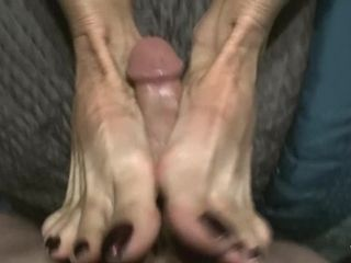 Nikki Ashton - POV MILF Handjob Blowjob And Footjob