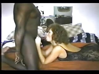 Brit wifey in assets tights takes nine inch BC.