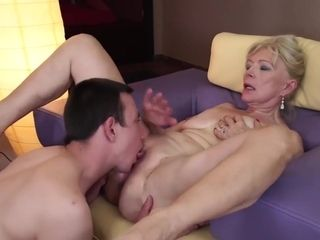 Blond Milf Is Getting Her Slit Licked And Drilled - Hard Sex