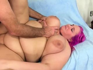 Large ultra-cutie gets romped for jizz on good-sized mounds