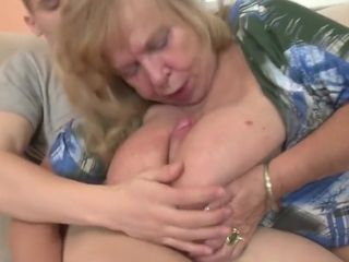 Old Granny Suck And Fuck Young Boys Cock