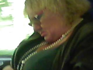 la signora sul treno
