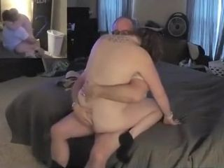 Awesome homemade wifey, mature, bigtits gonzo movie