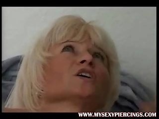My fantastic Piercings cougar with pierced cunt lips