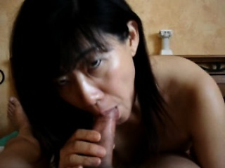 Sexy oriental spouse from indonesia without husband on holi