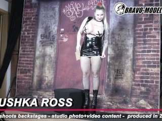426-Backstage Photoshoot Jarushka Ross - Cosplay latex