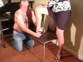 Mature domina podophilia