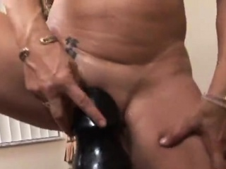 Super-steamy sex industry star fake penis with money-ssuper-steamy
