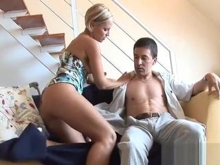 Lusty mommy gets super-naughty and sits down on fuck-stick for a red-hot rail