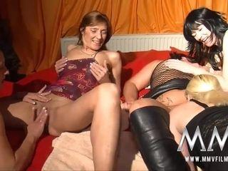 MMV Films German lesbos swinger gang shagging