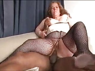 67yo Horny Mature x Big Black Cock