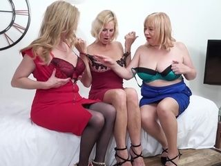 Three Girls On The Table Pt1 - TacAmateurs