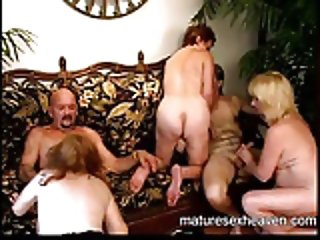 Granny's Mature Sex Party Part 4