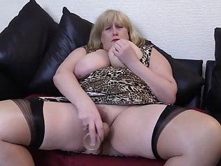 Hot Blonde Mature Pawg Teasing Black Cock. Milf BBW Busty
