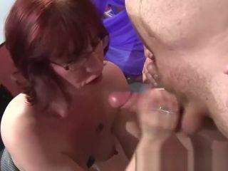 Steamy monstrous butt matures get coochie boned rigid in rigid gang-fuck