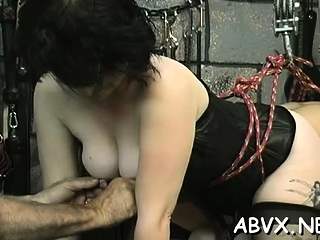 Immense udders playgirl firm boinked in slavery gonzo sequences